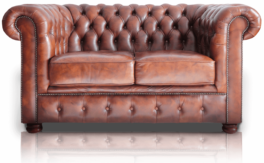 Leather sofa repaired by Knights Leather Repair and Upholstery
